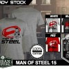 Kaos MAN OF STEEL  Disain MAN OF STEEL 15