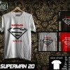 Kaos SUPERMAN  Disain SUPERMAN  20