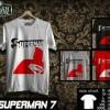 Kaos SUPERMAN  Disain SUPERMAN  7