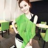 BLOUSE TWO PIECES GREEN G3051