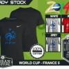 Kaos PIALA DUNIA Disain WORLD CUP - FRANCE 5
