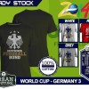 Kaos PIALA DUNIA Disain WORLD CUP - GERMANY 3