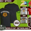 Kaos PIALA DUNIA Disain WORLD CUP - NETHERLAND 8