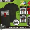 Kaos PIALA DUNIA Disain WORLD CUP - SPAIN 2