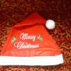 Topi Christmas Bordir