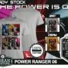Tshirt POWER RANGER 06