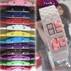 Plastic lava bracelet watch fashion Korean Style
