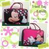 Tas Travel Kanvas Mickey Flower