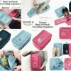 Shoes And Pouch Travelling Organizer (Traveler Box)