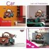 Wall Sticker - Car