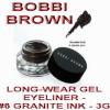 BOBBI BROWN COSMETIC READY STOCK - ORIGINAL - LONG-WEAR GEL EYELINER - 6 GRANITE INK