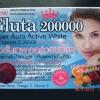 GLUTA 200000 SOFTGEL + 20000 LEMON VITAMIN C NEW Super Aura Active White (Gluta Biru 200K)