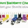 Charger micro usb (blackberry) warna warni