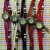 Vintage Indian Round Dark Brown