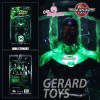 Green Lantern John Stewart - Blackest Night - DC Direct - MIB