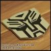 Emblem Transformers Stainless ( Pattern Autobots )