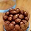 Coklat Delfi Almond 250gram kemasan toples mika
