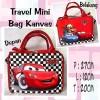 Tas Travel Kanvas Mini Cars Catur