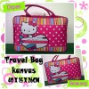 Tas Travel Kanvas Hello Kitty Plane