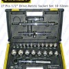 "Socket Set 1/2"" Drive 26 Pcs Mm Stanley"