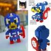 Lego Loz Captain America - Diamond Block Nano Kapten Amerika