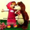 Boneka Marsha & Bear