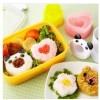 Cetakan Nasi Bento Rice Panda Love Flower Mold