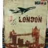 Poster Kaleng Vintage London 01