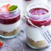 Cupcake in Jar - Stawberry Chessecake