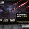 VGA ASUS GEFORCE GTX 750Ti DDR5 2GB OC