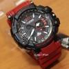 Jam Tangan Tahan Air D-ZINER 8020 GELANG Merah