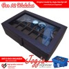 PROMO!! Kotak Tempat Jam Tangan Isi 12 / Super Quality Watch Box