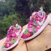 Nike Roshe Run Woman motif bunga