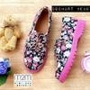 Sepatu Kets Docmart Wanita Bunga