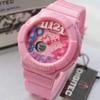Jam Tangan Digitec Original Dualtime Ladies Pink
