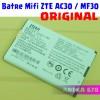 Baterai Modem Wifi Mifi ZTE AC30 / MF30 Batre Original