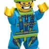Skydiver - Lego Minifigures Series 10