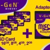 MicroSD VGen With Adapter (8GB)