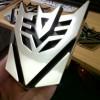 Emblem Transformers Decepticon Medium