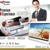 Tablet Advan Vandroid T3X 8.9 inch 1GB + 8GB