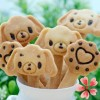 Cetakan Kue Kering Cutter Biscuit Cookie Cookies Anjing Dog Puppy 3in1