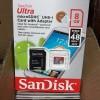 San Disk Micro SD Card 8Gb - Cl 10