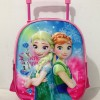 Tas Anak Sekolah TK Trolley Frozen Fever Timbul/3D Import