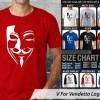 Ocean Seven Shirt - V For Vendetta Logo 1