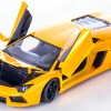 Diecast Miniatur Mobil LAMBORGHINI AVENTADOR LP 700-4 Yellow 1:24