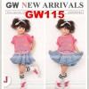 Setelan Anak Perempuan Gw115 J