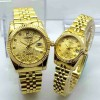 RLXC02FG Jam Tangan Couple Rolex Full Gold RLXC02 FG Harga 1an