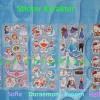 Sticker Emboss Karakter Untuk Anak Anak