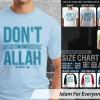 Kaos Islam Allah With Us dont be sad