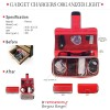 Charger Organizer Red